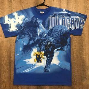 vintage University of Kentucky Wildcats Tee shirt